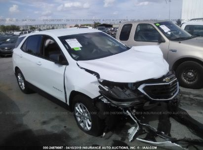 Salvage 2019 CHEVROLET EQUINOX for sale