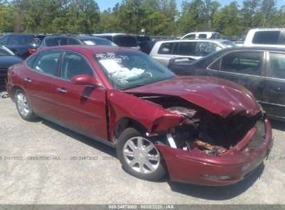 Salvage 2005 BUICK ALLURE for sale