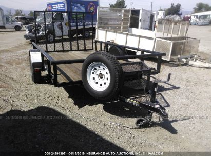 Salvage 2016 CARRY-ON UTILITY TRAILER for sale