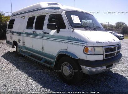 Salvage 1996 DODGE RAM VAN for sale