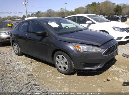 Salvage 2017 FORD FOCUS for sale