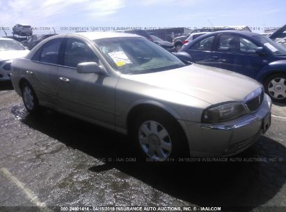 Salvage 2004 LINCOLN LS for sale