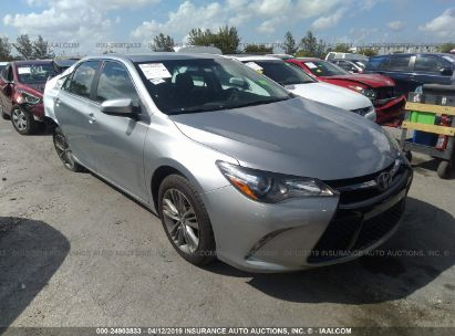 Salvage 2017 TOYOTA CAMRY for sale