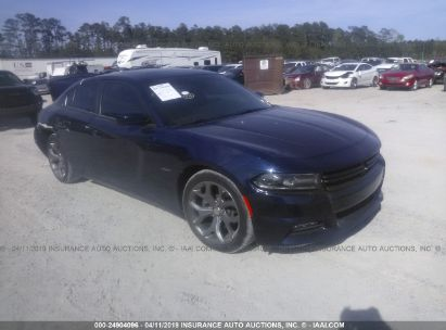 Salvage 2015 DODGE CHARGER for sale