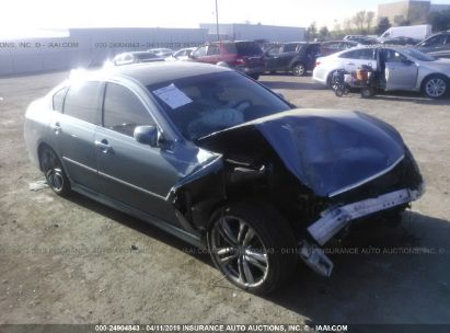Salvage 2009 INFINITI M35 for sale