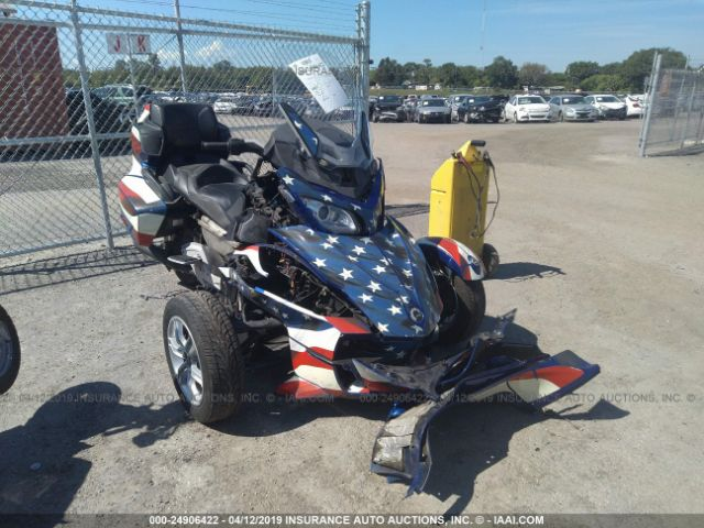 click here to view 2012 CAN-AM SPYDER ROADSTER at IBIDSAFELY