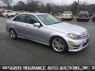 click here to view 2012 MERCEDES-BENZ C at IBIDSAFELY