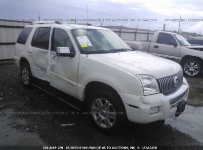 Salvage 2008 MERCURY MOUNTAINEER for sale