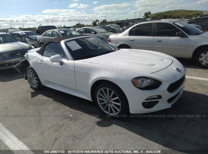 Salvage 2017 FIAT 124 SPIDER for sale