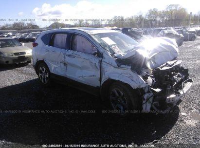 Salvage 2018 HONDA CR-V for sale