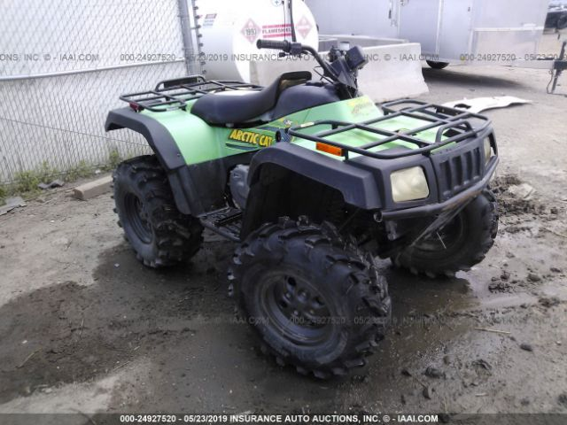 click here to view 2003 ARCTIC CAT 400 4X4 at IBIDSAFELY