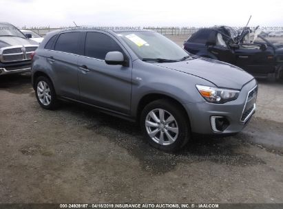 Salvage 2015 MITSUBISHI OUTLANDER SPORT for sale