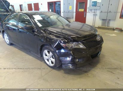 Salvage 2011 TOYOTA CAMRY for sale
