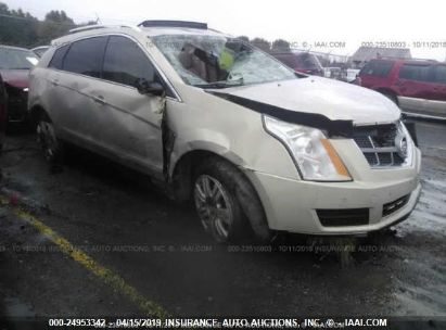 Salvage 2011 CADILLAC SRX for sale