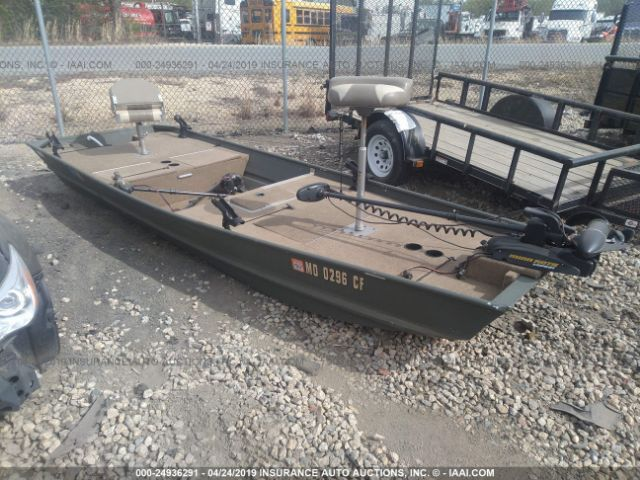 click here to view 2012 TRACKER MARINE 15FT ALUMINUM BOAT at IBIDSAFELY