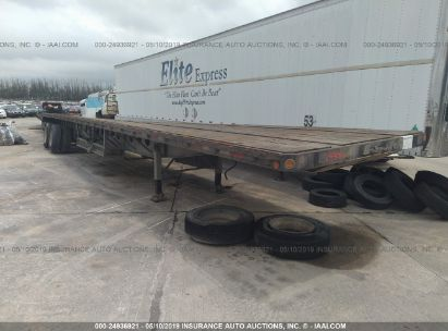 Salvage 2007 LUFKIN INDUSTRIES FLATBED for sale