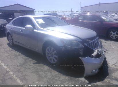 Salvage 2007 LEXUS LS for sale