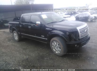 Salvage 2011 FORD F150 for sale