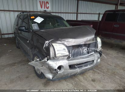 Salvage 2003 MERCURY MOUNTAINEER for sale