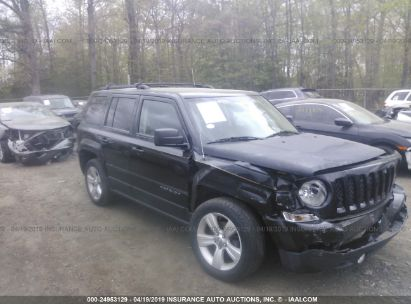 Salvage 2014 JEEP PATRIOT for sale