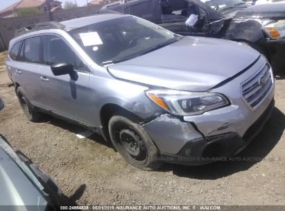 Salvage 2016 SUBARU OUTBACK for sale