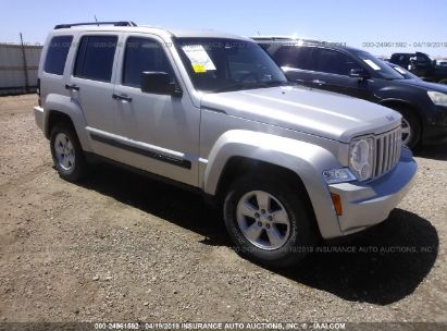 Salvage 2009 JEEP LIBERTY for sale