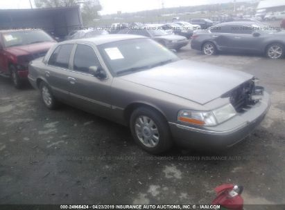 Salvage 2005 MERCURY GRAND MARQUIS for sale