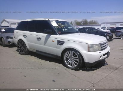 Salvage 2008 LAND ROVER RANGE ROVER SPORT for sale