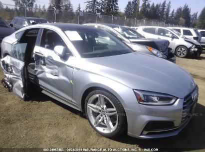 Salvage 2018 AUDI A5 for sale