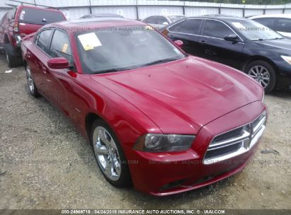Salvage 2013 DODGE CHARGER for sale