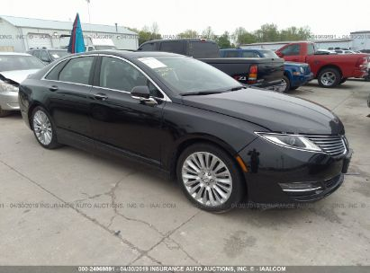Salvage 2015 LINCOLN MKZ for sale