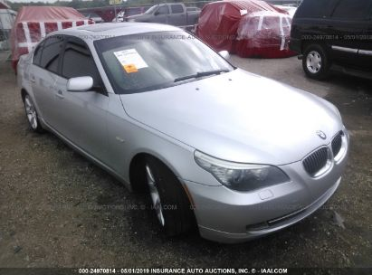 Salvage 2010 BMW 535 for sale
