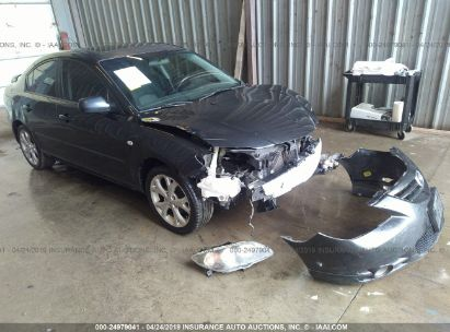 Salvage 2008 MAZDA 3 for sale