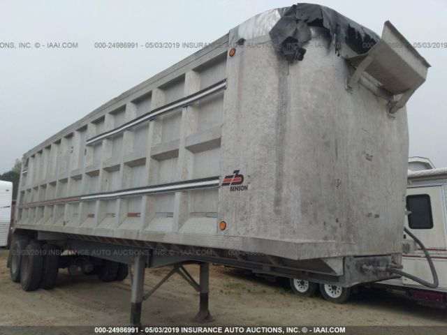 click here to view 1986 BENSON TRUCK BODIES DUMP at IBIDSAFELY