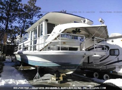 Salvage 1974 GIBSON HOUSE BOAT for sale
