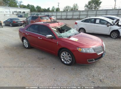 Salvage 2011 LINCOLN MKZ for sale
