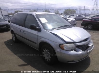 Salvage 2003 CHRYSLER VOYAGER for sale
