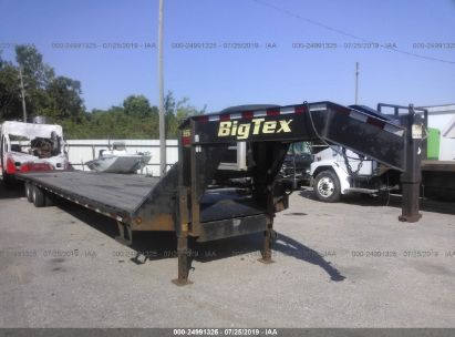 Salvage 2016 BIG TEX TRAILER for sale