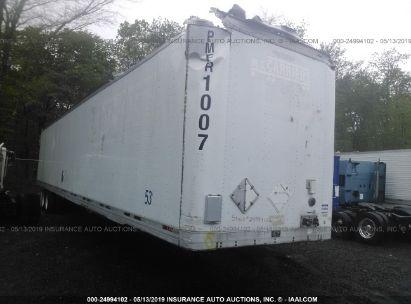Salvage 2000 TRAILMOBILE VAN for sale