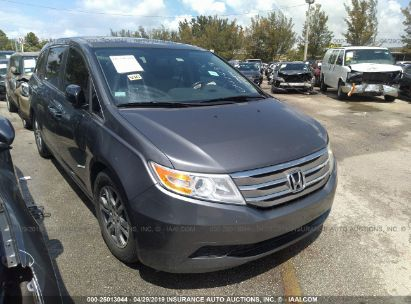 Salvage 2013 HONDA ODYSSEY for sale