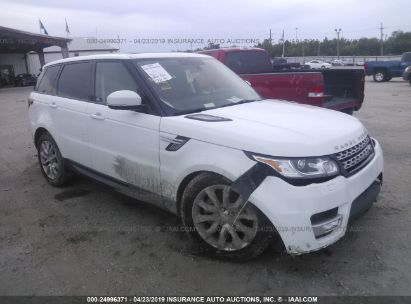 Salvage 2014 LAND ROVER RANGE ROVER SPORT for sale