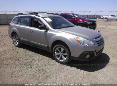 Salvage 2014 SUBARU OUTBACK for sale