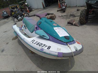 Salvage 1995 YAMAHA WAVERUNNER for sale