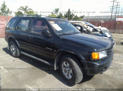 Salvage 1999 ISUZU RODEO for sale