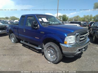 Salvage 2003 FORD F250 for sale