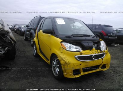 Salvage 2015 SMART FORTWO for sale