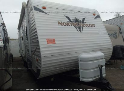 Salvage 2011 HEARTLAND NORTH COUNTRY for sale