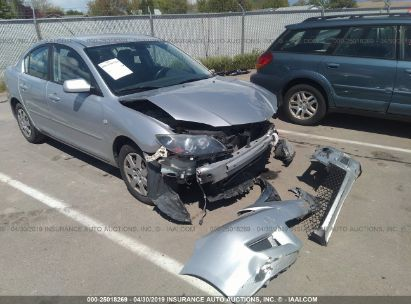 Salvage 2007 MAZDA 3 for sale