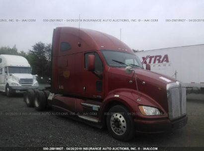 Salvage 2012 KENWORTH T700 for sale