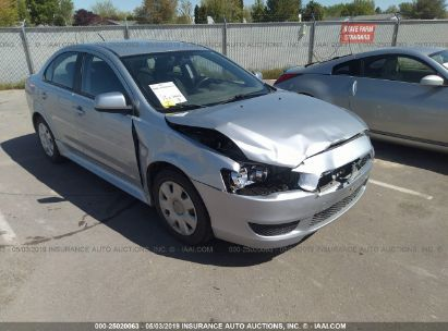 Salvage 2011 MITSUBISHI LANCER for sale